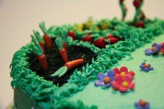 Garden cake by TheCakeDiary.com